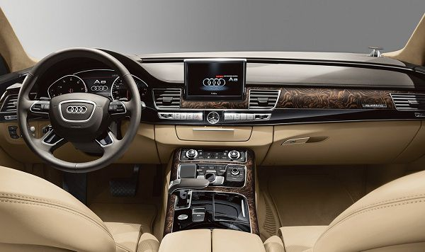 Interior of the 2018 Audi A8 L | Sell Car Get Cash