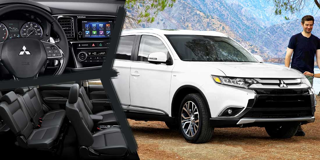 2018 mitsubishi outlander a compact suv with v6 engine and latest safety features sell car. Black Bedroom Furniture Sets. Home Design Ideas