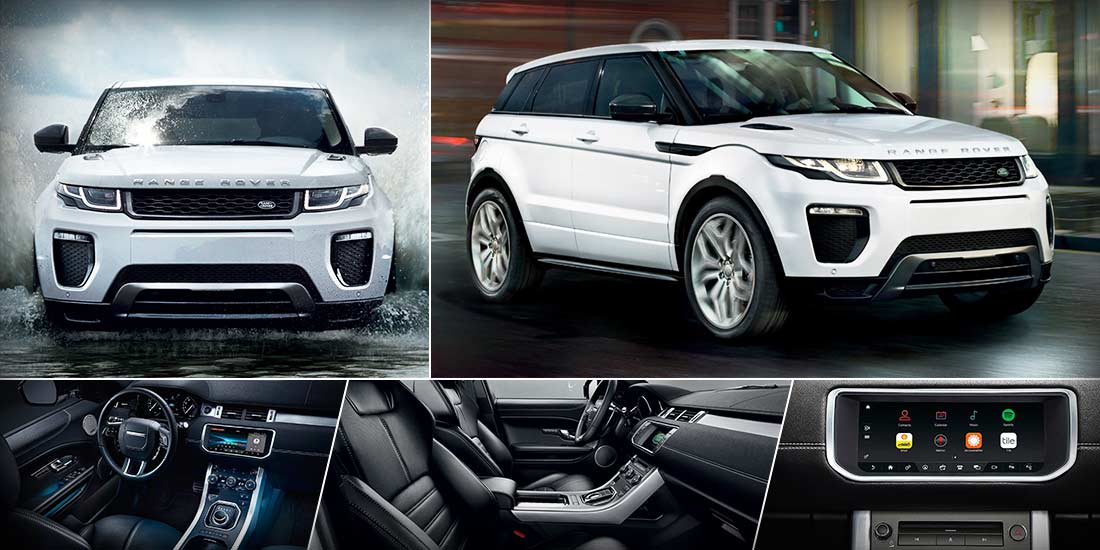 2018 Land Rover Range Rover Evoque with Si4 Engine and Advanced Technologies