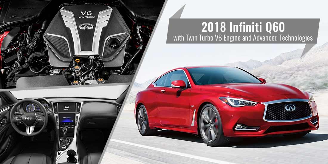 2018 Infiniti Q60 with Twin Turbo V6 Engine and Advanced Technologies